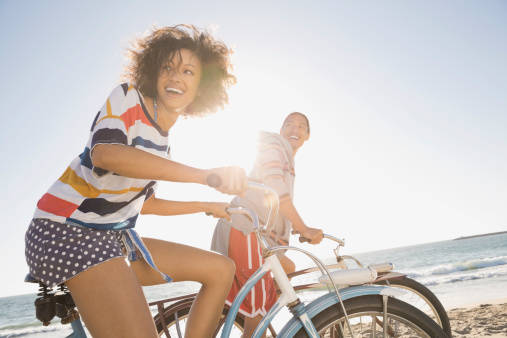 複数人でサイクリング