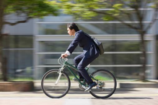 会社まで自転車通勤をすると健康にもなれちゃうの!?
