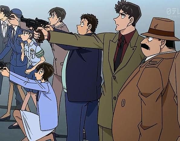 <ネタバレ注意>【名探偵コナン】登場する刑事キャラクター達の階級を並べてみた