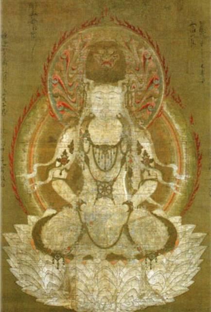 仏眼仏母像(レプリカ)