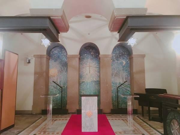 ホテルモントレ神戸のチャペル