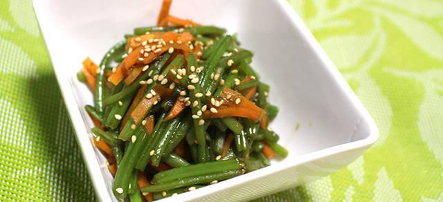 栄養満点レア食材!芋づるのきんぴら|芋づるのレシピ
