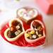 【100均で手作りバレンタインレシピ】溶かして混ぜて入れるだけ!タルトチョコレート