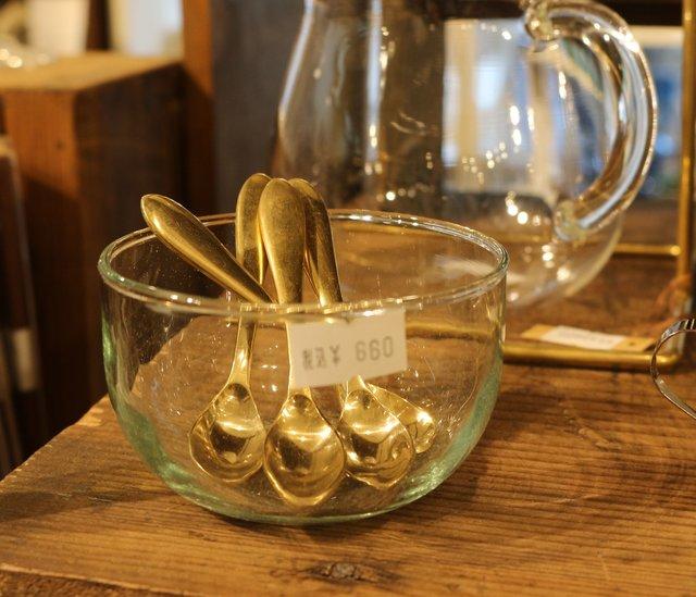 「真鍮のスパイススプーン」 ¥660
