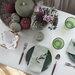 カラーが決め手♪   秋のテーブルコーディネートと簡単レシピ