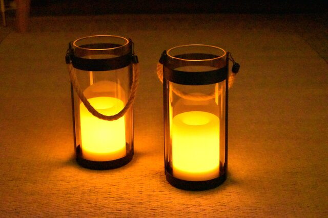 LED ソーラーランタン ノッテ S:3,850円