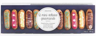食いしん坊のミニエクレア (ピスタチオ、フランボアーズ、チョコレート、レモンメレンゲ ) ¥1,491(税込) (12383)