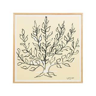 【定番品】アンリ・マティス「低木」ポスター (ナチュラルフレーム) ¥19,980(税込) (25167)
