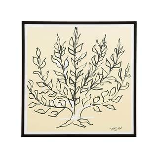 【定番品】アンリ・マティス「低木」BK ポスター (ブラックフレーム) ¥19,980(税込) (25168)