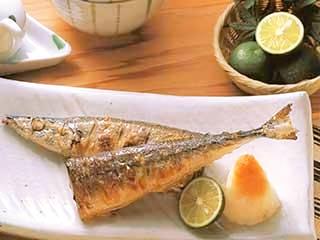 焼き魚(さんま)