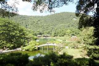 RITSURIN GARDEN, A GRAND JAPANESE GARDEN WITH 3-STAR GREEN MICHELIN