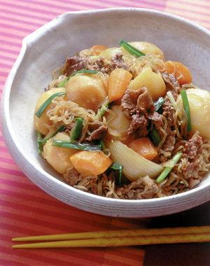昔ながらの肉じゃが | 大庭英子さんのレシピ【オレンジページnet】プロに教わる簡単おいしい献立レシピ (6277)