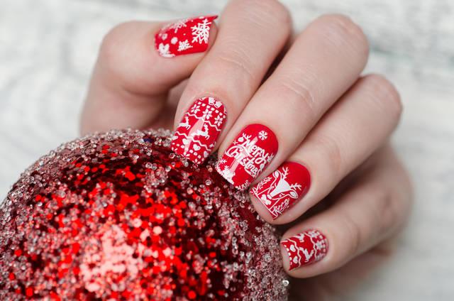 クリスマスネイルの可愛いデザイン集!年に一度のおすすめは?【2018】