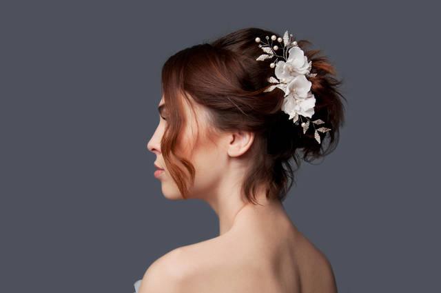 結婚式の髪型でミディアムのハーフアップの方法!簡単に可愛くヘアアレンジ!