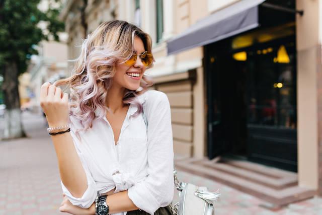 ストロベリーブロンドで可愛くなる!海外セレブの髪色がお手本に?