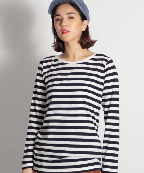 シンプルラインTシャツ
