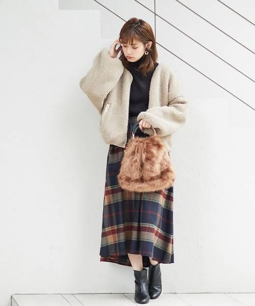【ブランド:natural couture】Newボアブルゾン