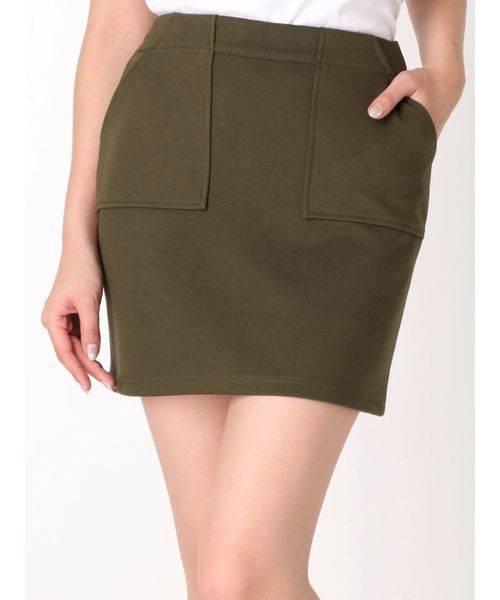 EMODA ポケットミニスカート