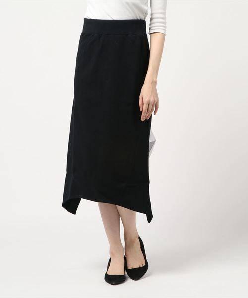 ADDICT NOIR スウェット×チュール スカート
