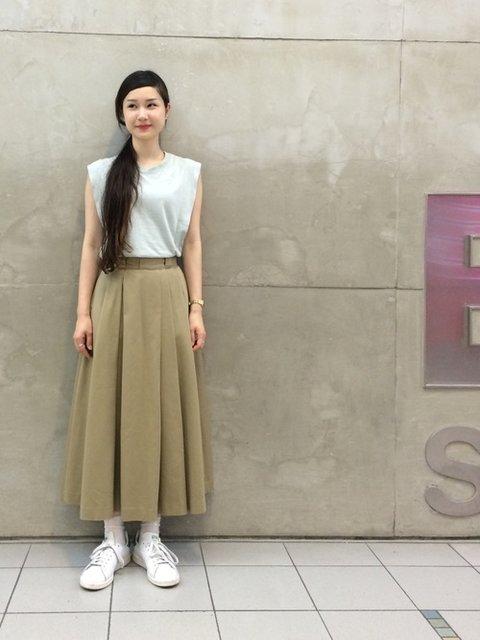 MARUERI(ビームス ストリート 梅田)|Ray BEAMSのTシャツ/カットソーを使ったコーディネート - WEAR (282454)
