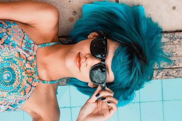 Blue Sunglasses Woman · Free photo on Pixabay (2558)