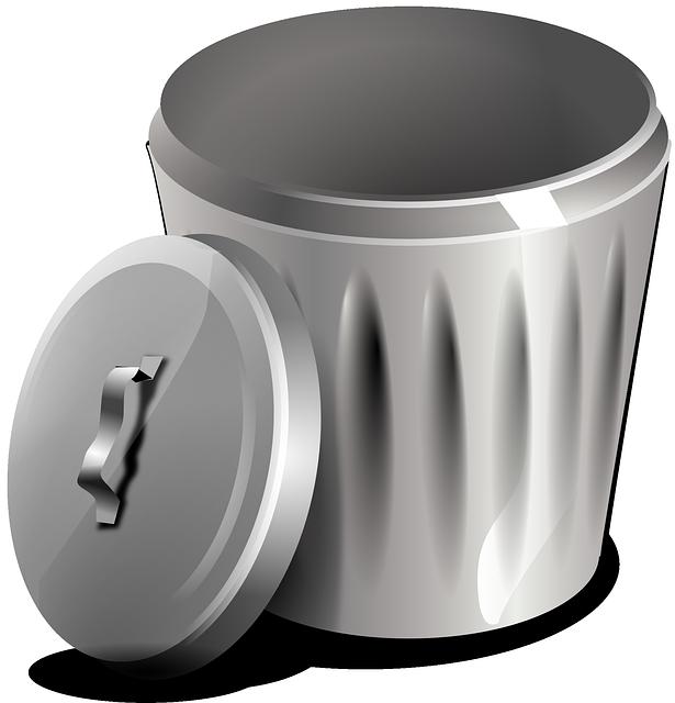 Garbage Basket Bin · Free vector graphic on Pixabay (21219)