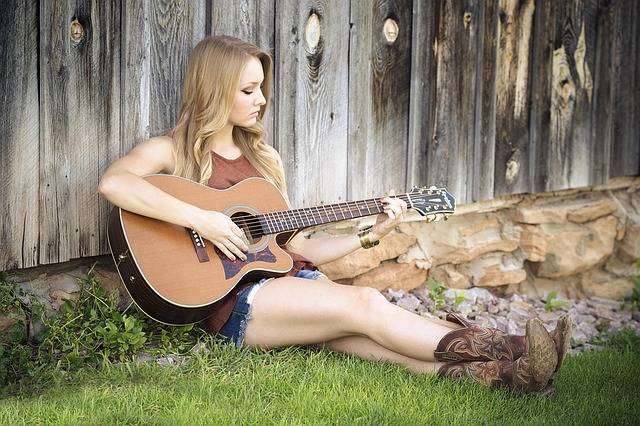 Guitar Country Girl · Free photo on Pixabay (28995)
