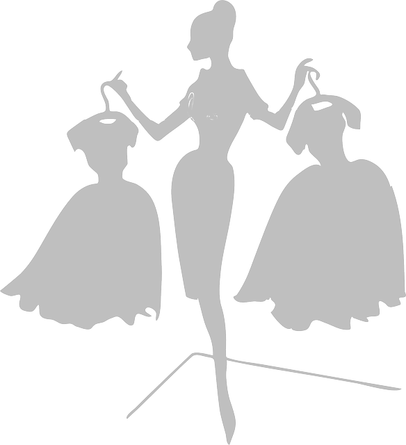 Woman Dresses Grey · Free vector graphic on Pixabay (30466)