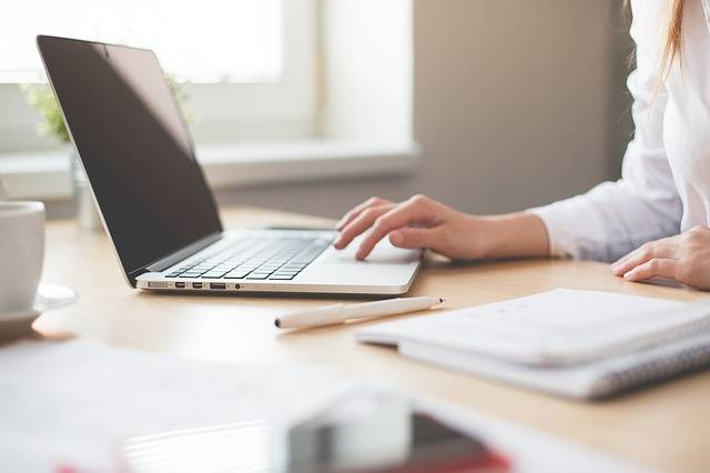 Notebook Work Girl · Free photo on Pixabay (31813)