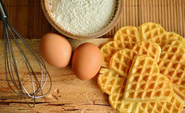 Waffles Bake Ingredients · Free photo on Pixabay (32620)