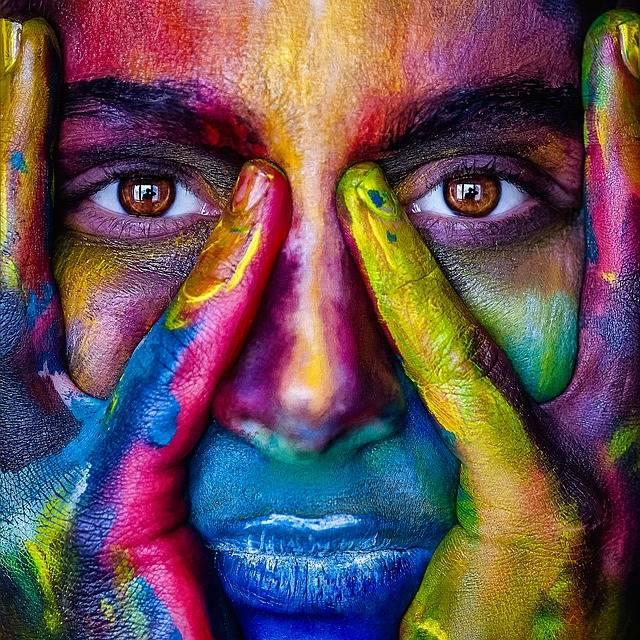 Girl Face Colorful · Free photo on Pixabay (41118)