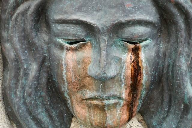 Sculpture Mask Tears Bronze · Free photo on Pixabay (41141)