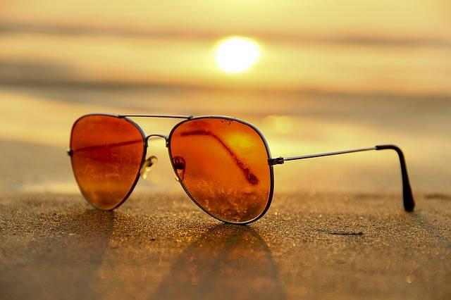 Sunset Beach Sunglasses · Free photo on Pixabay (42354)