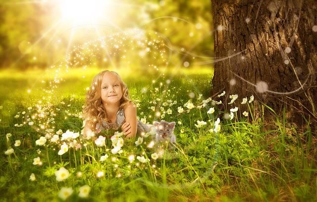 Girls Tree Sunshine · Free photo on Pixabay (43551)