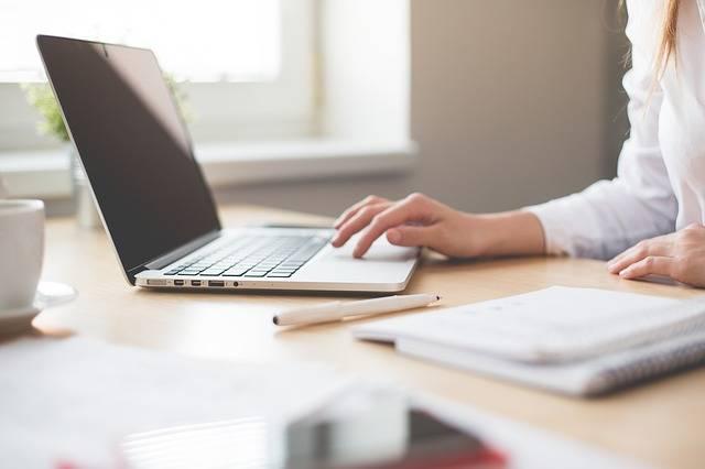 Notebook Work Girl · Free photo on Pixabay (43978)