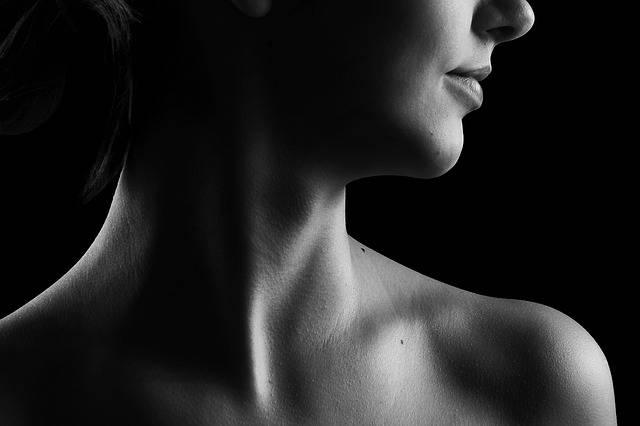 Neck Black And White Beauty · Free photo on Pixabay (84390)