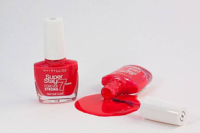Nail Varnish Red Paint Fell · Free photo on Pixabay (106247)