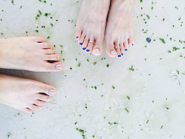 Pedicure Sea Beach · Free photo on Pixabay (107829)
