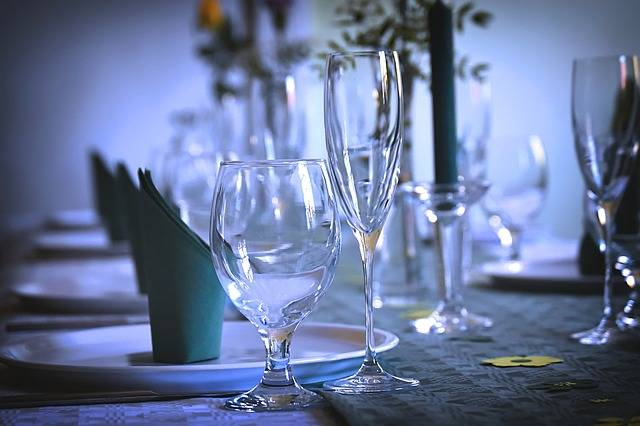 Gedeckter Table Tableware Glasses · Free photo on Pixabay (107962)
