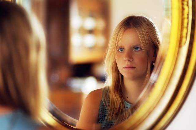 Girl Mirror Reflection · Free photo on Pixabay (111465)