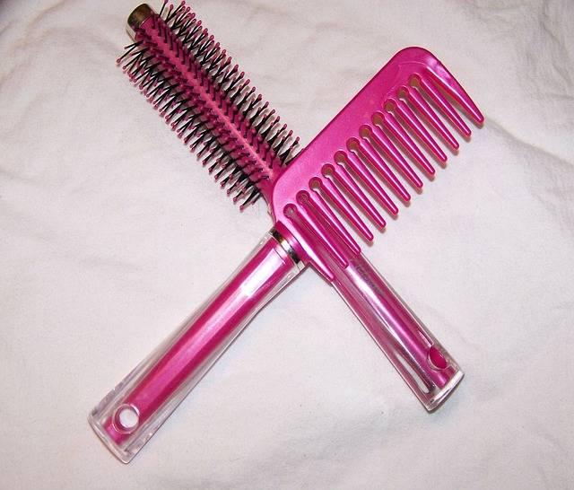 Comb Hair Brush Pink · Free photo on Pixabay (113592)