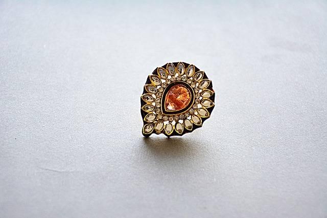 Jewellery Earring Golden Jewelry · Free photo on Pixabay (125089)