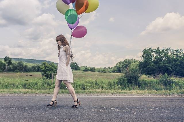 Balloons Party Girl · Free photo on Pixabay (131810)