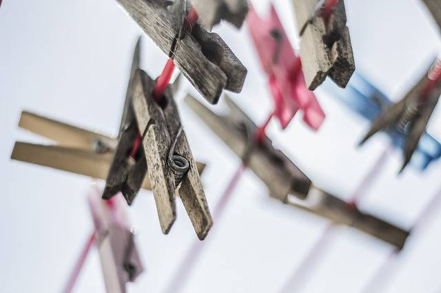 Clothes Pins Laundry Clothespins · Free photo on Pixabay (133327)