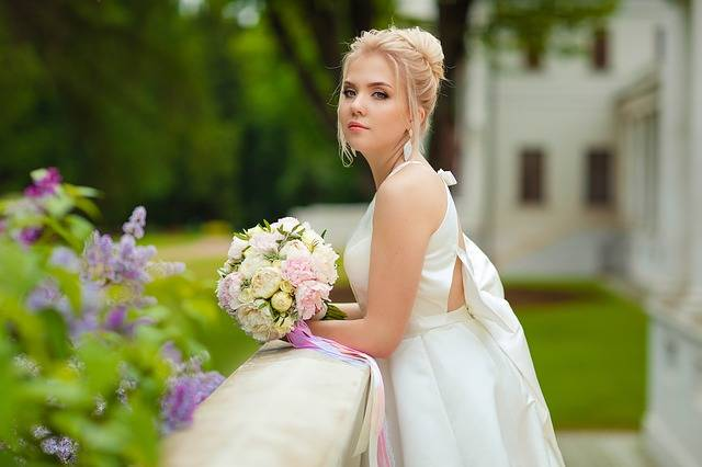 Wedding Bride Stand By Bridal · Free photo on Pixabay (140432)
