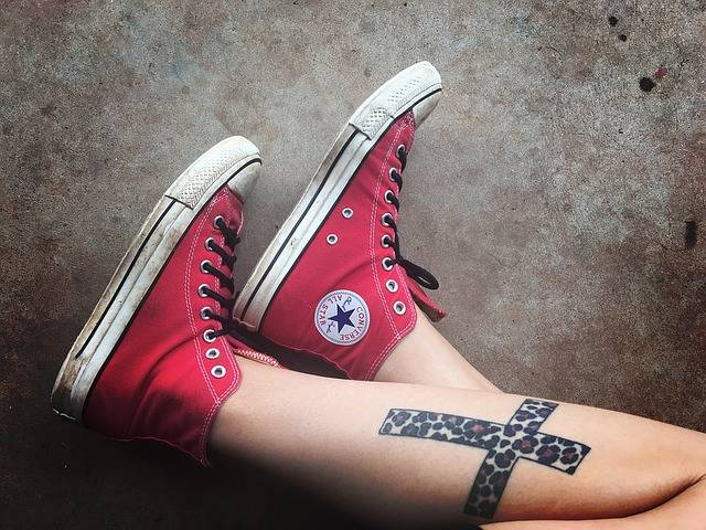 Shoes Converse Tattoos · Free photo on Pixabay (150020)