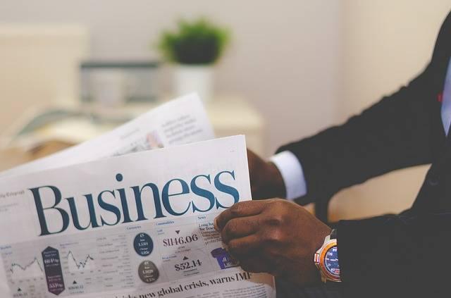 Business Man Newspaper · Free photo on Pixabay (153600)