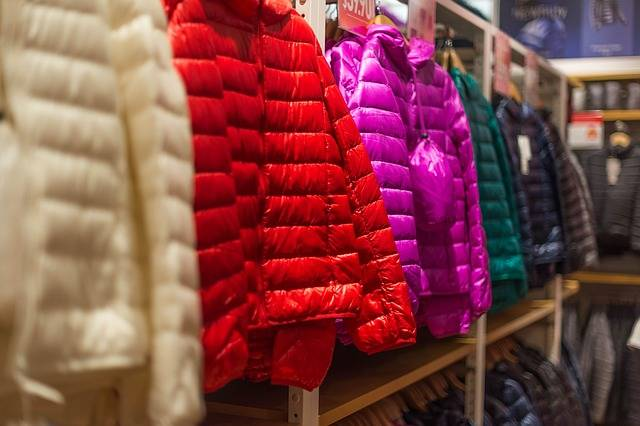 Down Jackets Clothes Shopping · Free photo on Pixabay (154493)