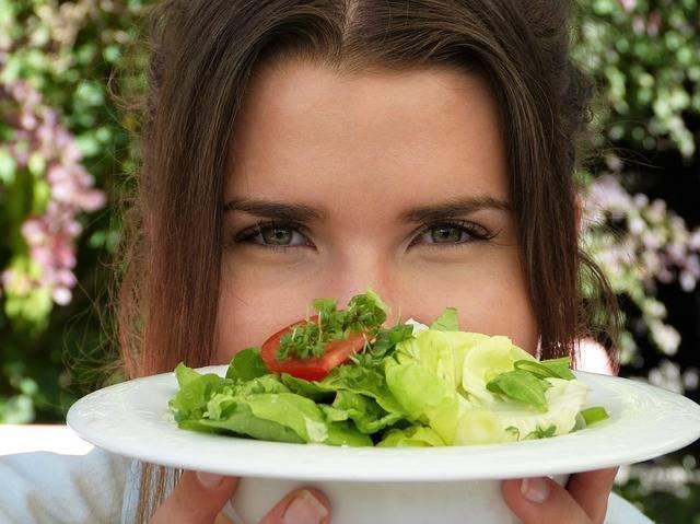 Salad Plate Girl Young · Free photo on Pixabay (154589)