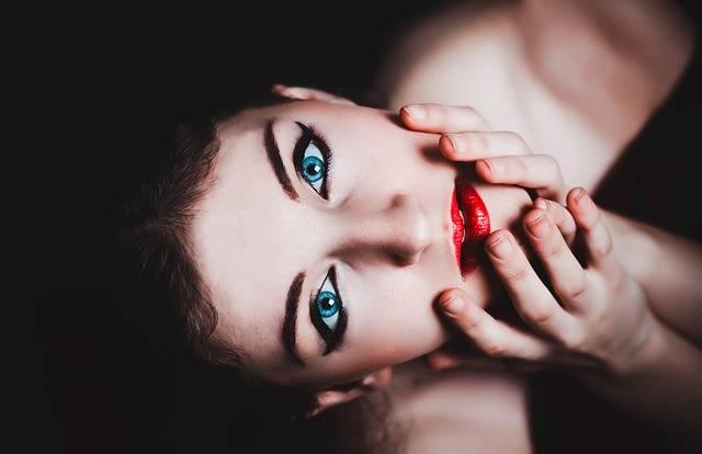 Blue Eyes Woman Female · Free photo on Pixabay (159404)